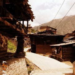 Quaint Streets - Manali, India.