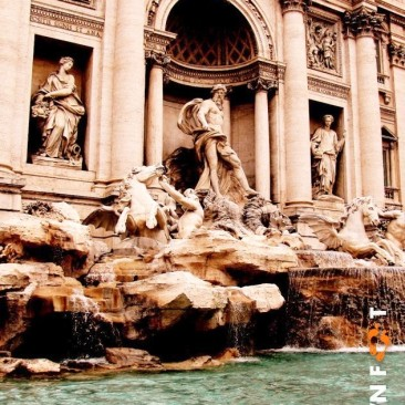 Trevi Fountain - Rome, Italy.