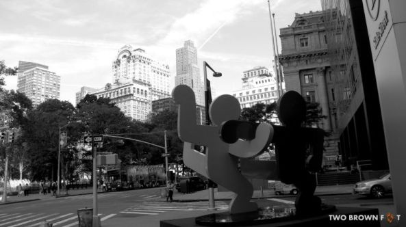 Black & White - NY, USA.