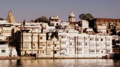 Whitewashed - Udaipur, Rajasthan, India.