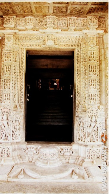 The Entrance - Ranakpur, Rajasthan, India.