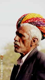 Portrait of an Old Man - Rajasthan, India.