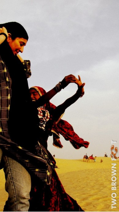 Join in - Sam Desert, Rajasthan, India.