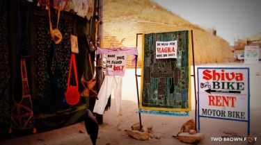 Quirky Signs - Jaisalmer, Rajasthan, India.