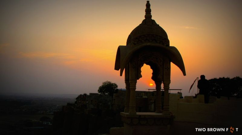 Goodbye blue sky - Jaisalmer Fort, Rajasthan, India.