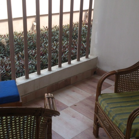 Our Verandah @ Prashaanti Lodge