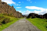 The long road - Thingvellir Park