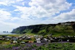 The scenic town of Vik