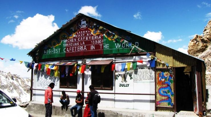 Eat Maggi Noodles at the worlds highest motorable pass