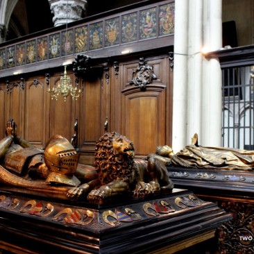 Tombs of Charles the Bold and his daughter, Duchess Mary.