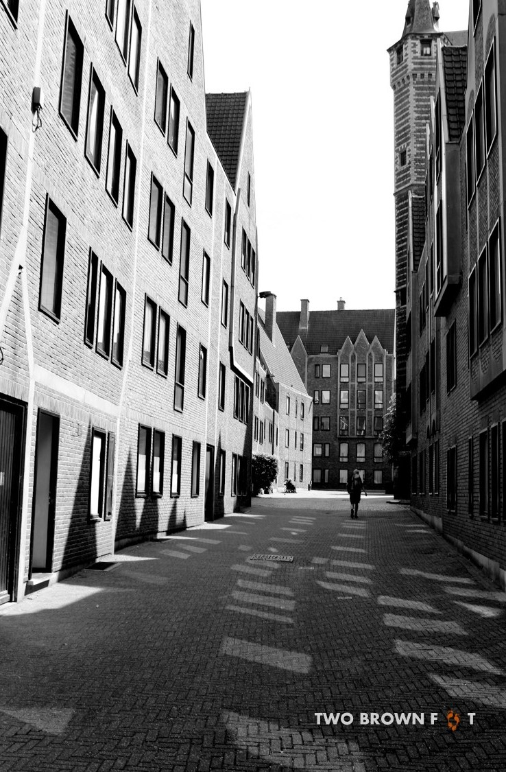 A walk through the old cobbled streets