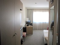 Novotel's spacious room in Venice. However, not the best in location.