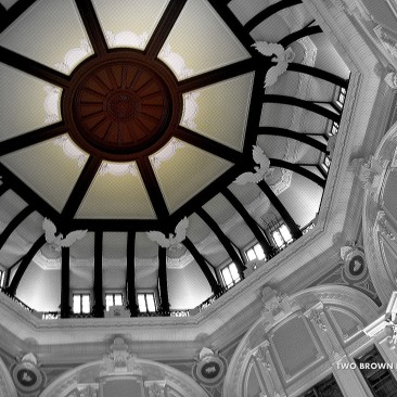 The rood of Tokyo Station