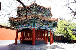 A Shrine in the Lama Temple -Beijing