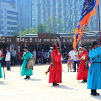 Changing Guard at Gyeongbokgung Palace
