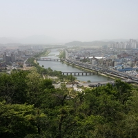 A Bird's-eye View of Suncheon City
