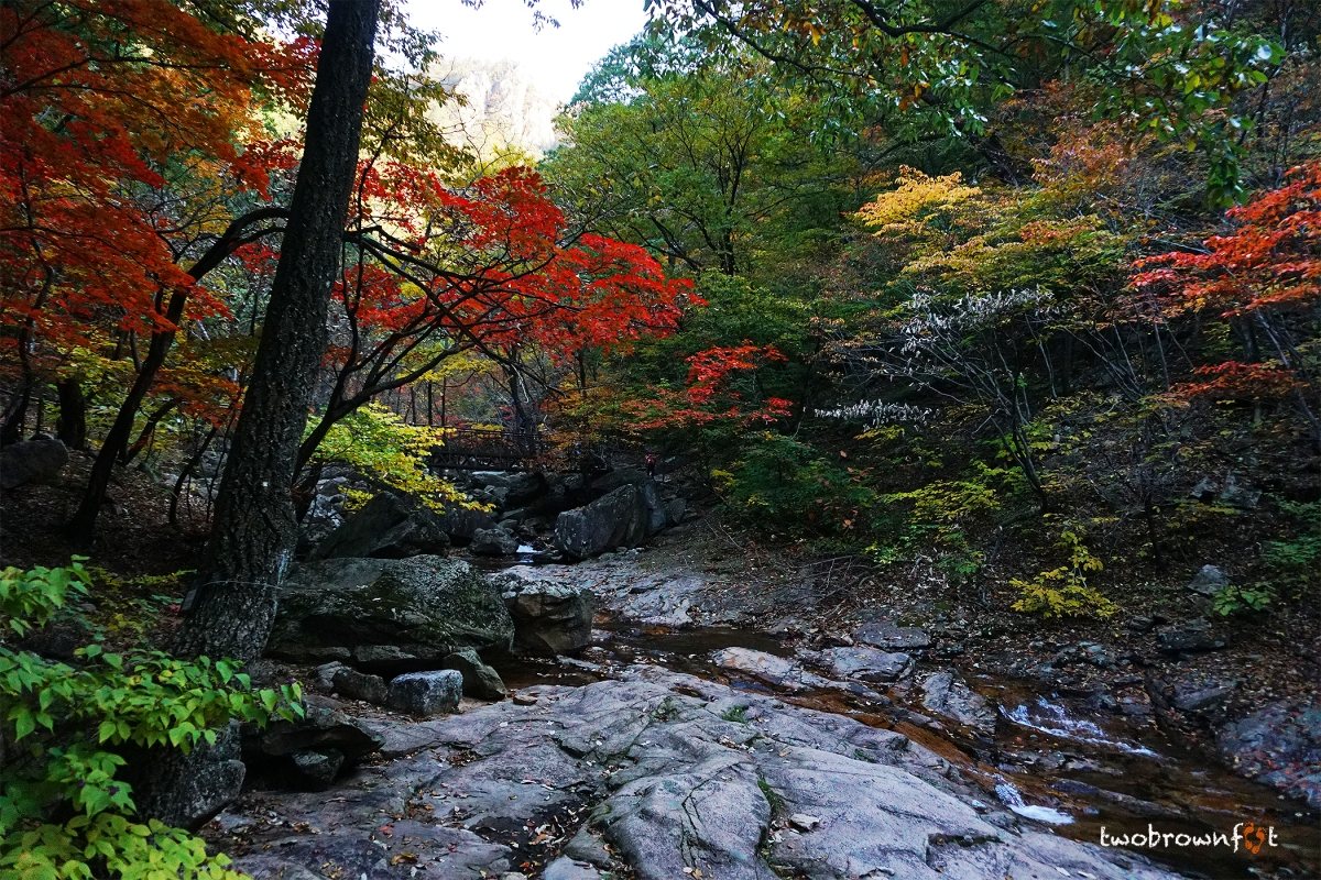 Exploring Seoraksan National Park in Autumn