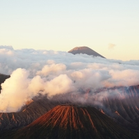 Sunrise at Bromo Tengger Semeru National Park