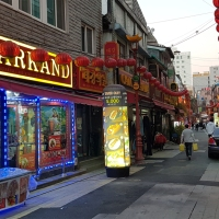 Quirky neighbourhoods around Busan Station
